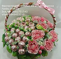 """Шикарный букет из конфет""""Цветочный бал""""№9+10+15, фото 1"""