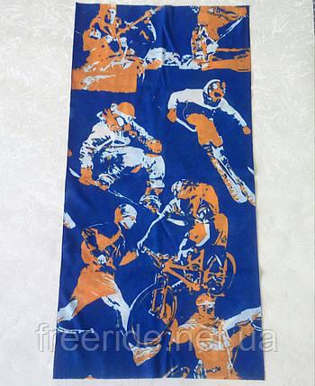 Летний бафф, buff, бесшовный шарф, повязка (#446), фото 2