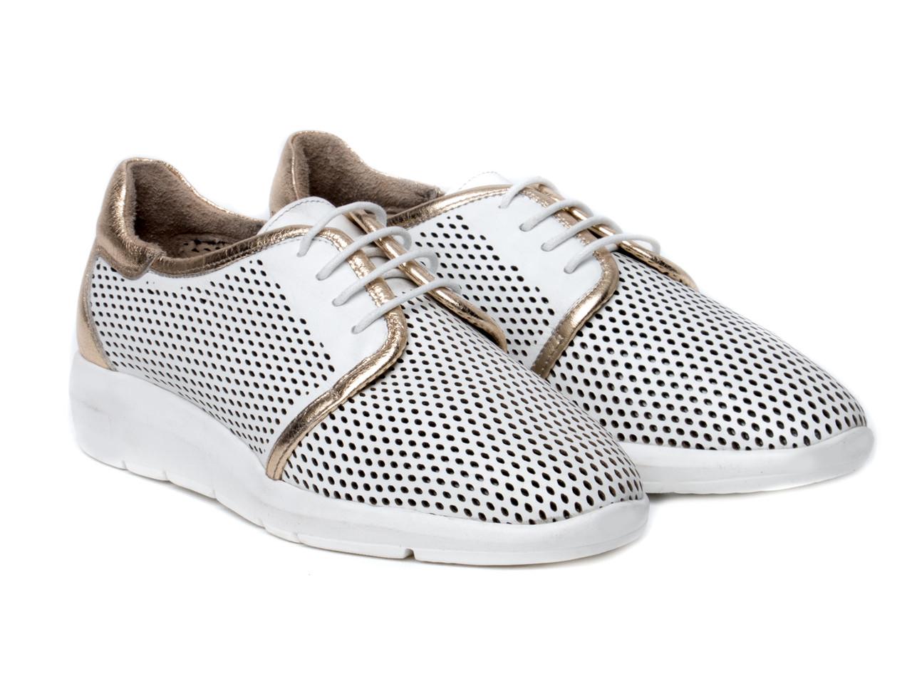 Кроссовки Etor 6499-784 39 белые