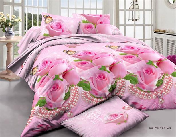 Постельный комплект двуспальный розы с жемчугом - 3D Сон в Хмельницком f7952a0302627