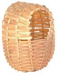 Гнездо плетеное для амадин - среднее 11#12 см, фото 3
