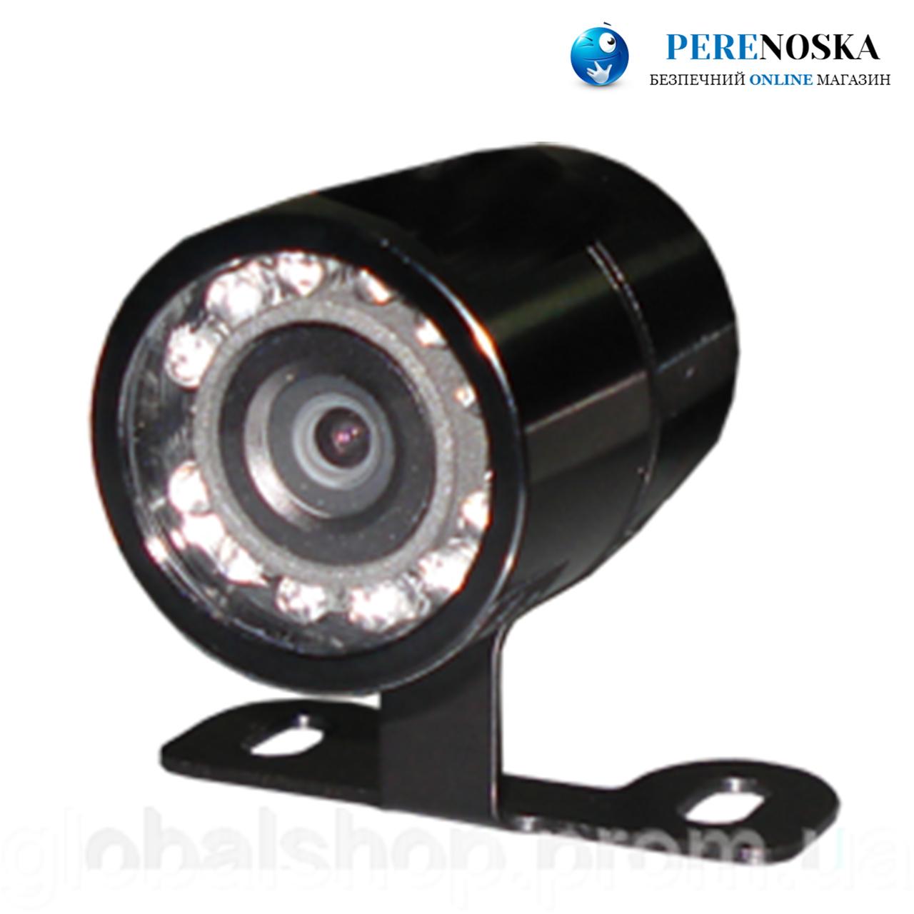 Камера заднего вида LM-700T/ Цветная парковочная с подсветкой/ Бабочка
