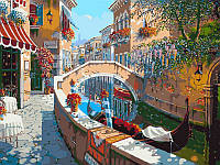 Картина-раскраска DIY Babylon Сан-Марко худ Пейман, Боб (VP024) 40 х 50 см
