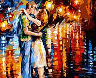 Картина по номерам на холсте Прощальный поцелуй худ. Афремов, Леонид (VP079) 40 х 50 см