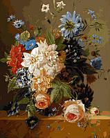 Картина-раскраска DIY Babylon Роскошные цветы худ Блумерс, Арнольдус (VP094) 40 х 50 см
