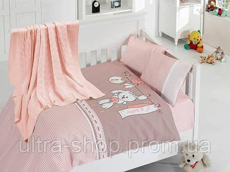 """Детское постельное белье в кроватку """"Baby"""" Турция First choice"""