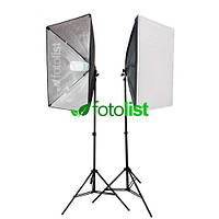 Набор постоянного студийного света с патронами для ламп Arsenal SLH-5070-2 (без ламп)