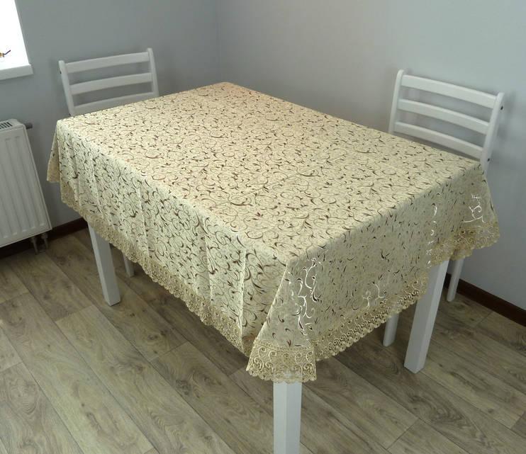 """Скатерть для стола """"NEHIR"""" 160Х220 оливковый"""