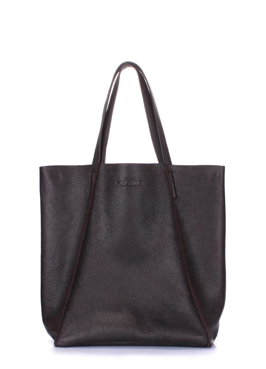 Кожаная женская сумка POOLPARTY Edge