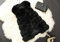 Жилетка женская меховая NY34 Меховые жилетки искусственный мех