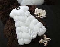 Жилетка женская меховая NY34 Меховые жилетки искусственный мех, фото 1