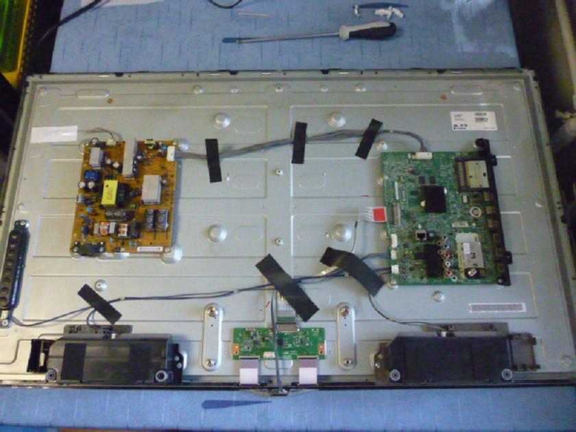 Платы от LЕD TV LG 42LN570V-ZE.BDRYLJU поблочно, в комплекте (матрица разбита).