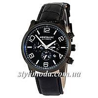 Часы наручные Montblanc TimeWalker Automatic All Black (реплика)