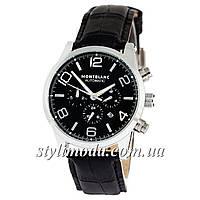Часы наручные Montblanc TimeWalker Automatic Black-Silver-Black (реплика)