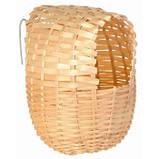 Гнездо плетеное для амадин - среднее 11#12 см, фото 4
