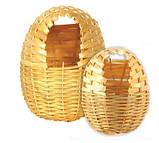 Гнездо плетеное для амадин - среднее 11#12 см, фото 5
