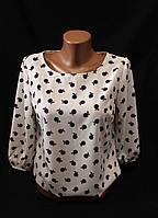 Рубашка женская, резинка, яблоки, купить женскую одежду со склада оптом, IR 1860 2/2 -BJ-0011