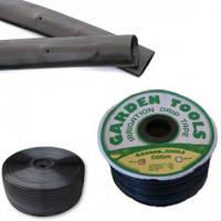 Щелевая лента для капельного полива Garden tools 10 см (300м)