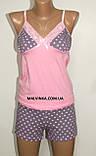 Комплект домашний  MILADI (тройка) халат,топ,шорты р M,L,XL, фото 7