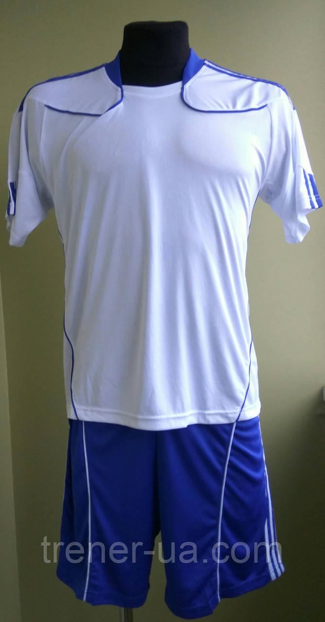 Футбольна форма дитяча на команду біло-синя