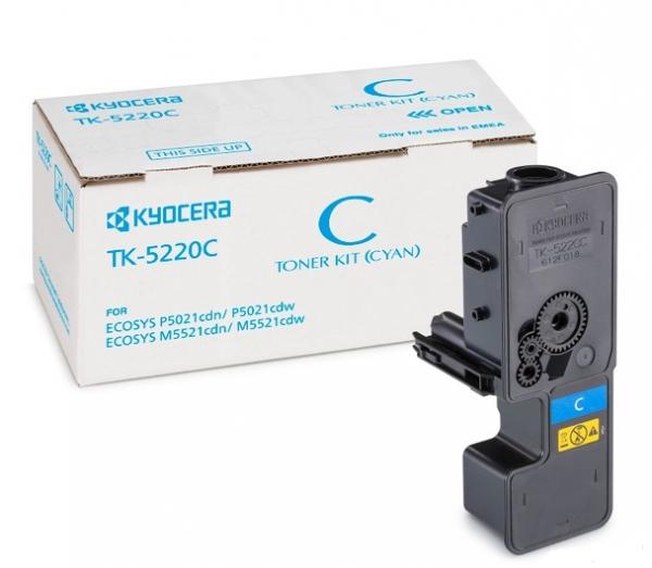 Тонер TK-5220C (Kyocera M5521cdn/cdw, P5021cdn/cdw)