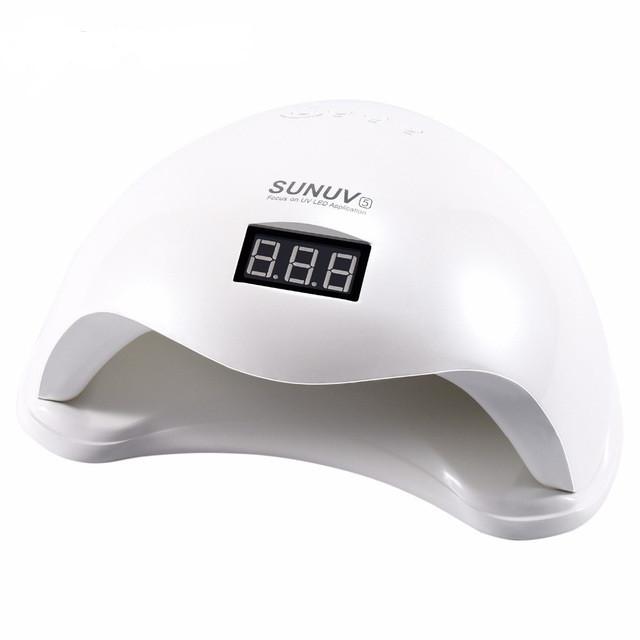 Светодиодная UV/LED лампа SUN 5 48 W white Профессиональная харьков
