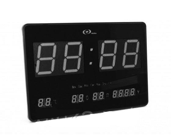 Настенные Электронные Часы LED Clock JH 4632 White Белые