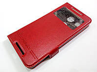 Чехол книжка с окошком momax для LG Nexus 5X h791 красный