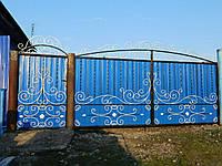 Кованые ворота Страсть