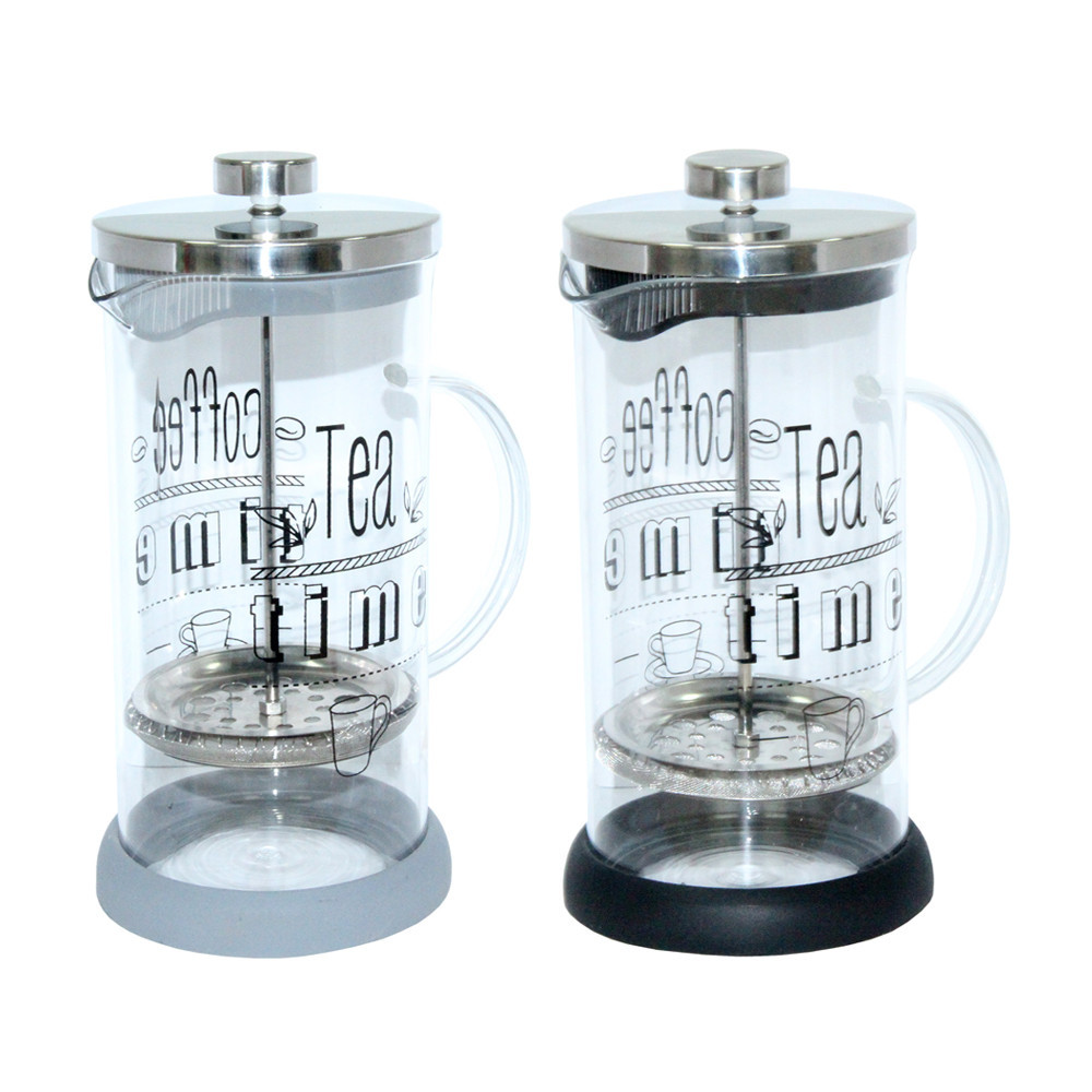 Френч-пресс Радуга, 600 мл ( заварочный чайник с пресс-фильтром )