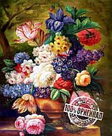 Картина по номерам MENGLEI Букет худ. Минаев Сергей (VS013)