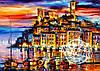 Набор для рисования MENGLEI Канны Франция худ. Афремов Леонид (VS014)