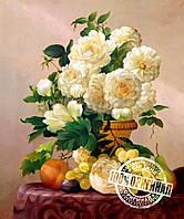 Набор для рисования MENGLEI Букет белых роз худ. Смородинов Руслан (VS015)