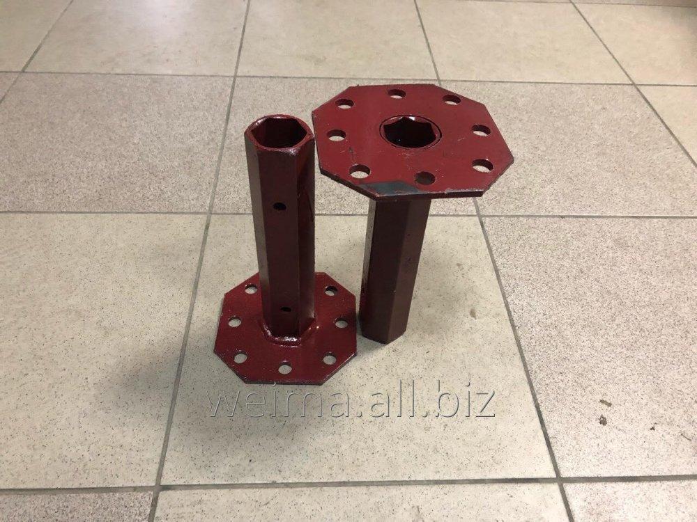 Піввісь 32/160 мм (двостороння, фланець жигуль/мотоблок) заводська