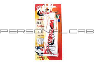 Герметик силиконовый   85мл   (красный)   VISBELLA