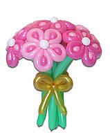 """Букет цветов из воздушных шариков Ромашка """"леопардовая"""""""