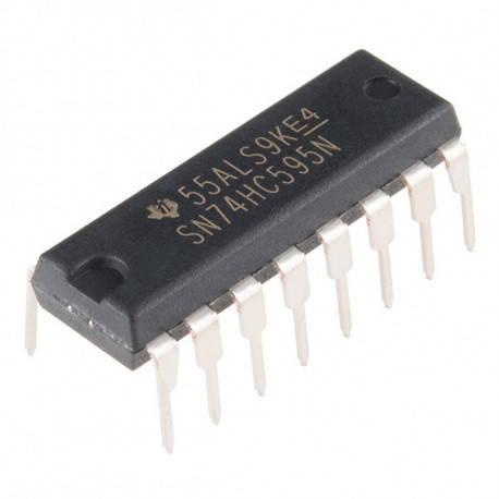 Микросхема SN74HC595N, фото 2