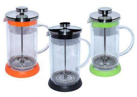 Заварочный чайник с пресс-фильтром Радуга, 800 мл ( френч пресс ), фото 2