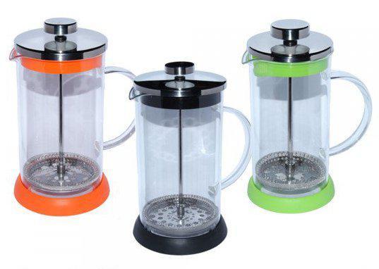 Заварочный чайник с пресс-фильтром Радуга, 800 мл ( френч пресс )