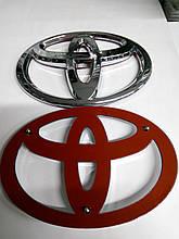 Эмблема Toyota  135х95 мм