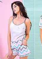 Duplicate of Пижама с майкой, рубашкой и шортами