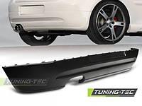 Юбка накладка на задний бампер обвес VW Golf 5 в стиле GTI