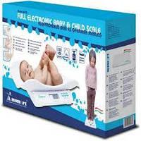 Детские весы для новорожденных Momert 6475 три режима взвешивания