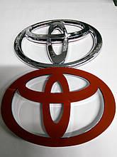 Эмблема Toyota  130х85 мм