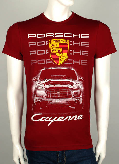 футболки с porsche cayenne