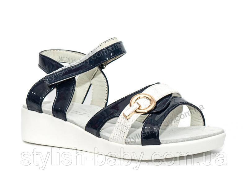 Детская летняя обувь оптом. Детские босоножки бренда СВТ.Т. - Meekone для девочек (рр. с 31 по 36)