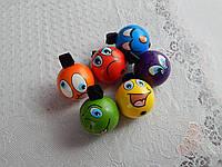 Детские мячи с резинкой на палец, фото 1