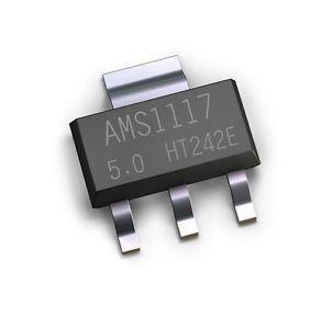 Мікросхема AMS1117-5.0 AMS1117-5V AMS1117 в стрічці
