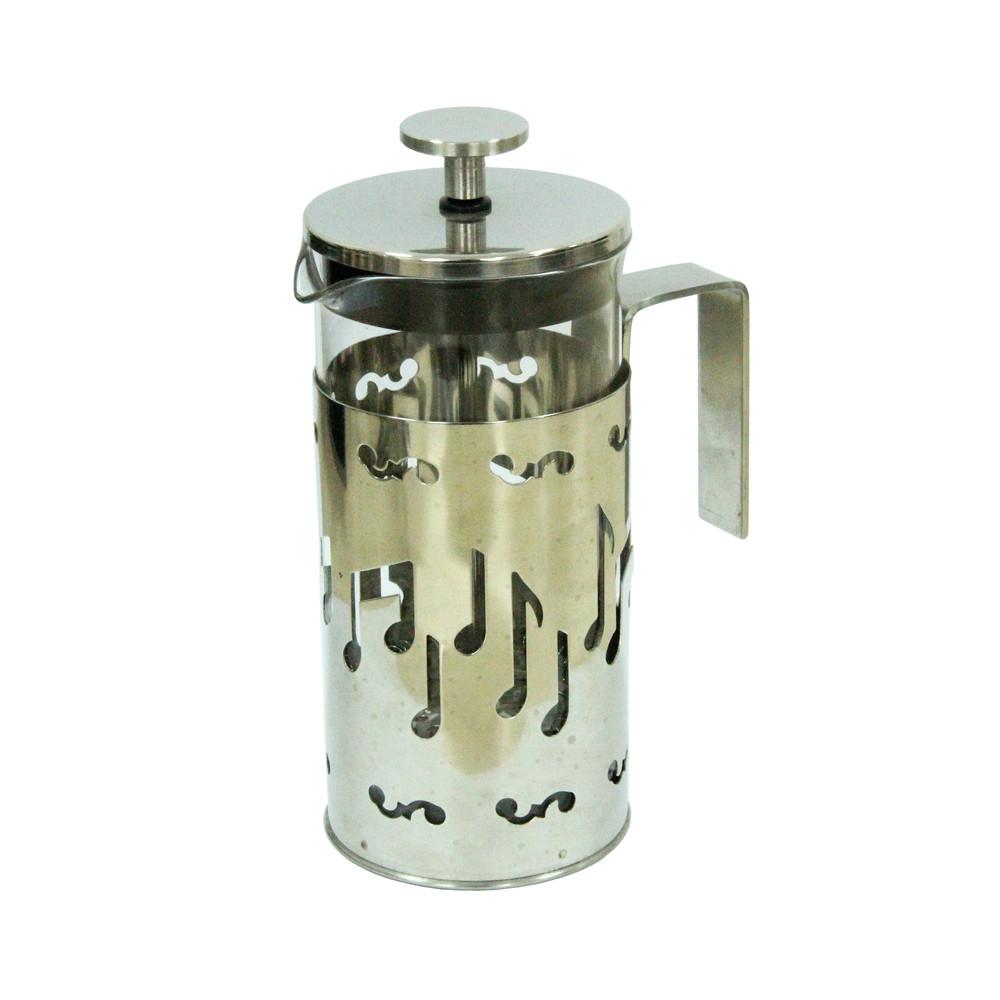 Заварник френч-пресс Стальная мелодия, 350 мл ( чайник с пресс фильтром )