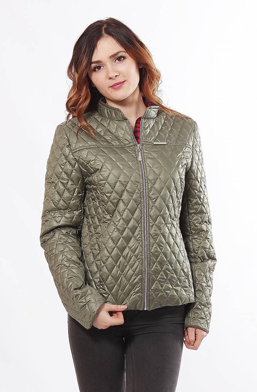 Весенняя короткая куртка, размеры 44-68